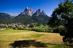 Итальянка Альпы - Sciliar Стоковое Изображение