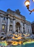 Итальянка фонтана Trevi: Фонтана di Trevi Стоковое фото RF