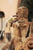 Итальянская деталь фонтана Стоковое Изображение RF