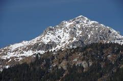 Итальянская зима 15 снега andalo горных вершин Стоковые Изображения RF