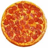 Итальянская изолированная пицца Стоковые Фотографии RF