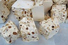 Итальянская конфета torrone стоковое фото rf