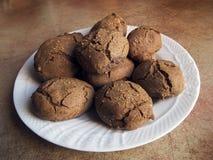 Итальянская кухня: домодельные печенья Стоковые Фото