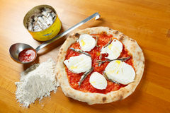 Итальянская пицца Стоковая Фотография RF