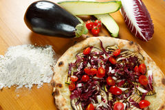 Итальянская пицца Стоковые Фото