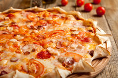 итальянская пицца Стоковое Изображение RF