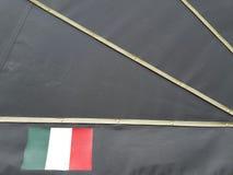 Итальянская предпосылка флага Стоковые Фотографии RF