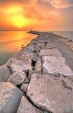 итальянская пристань Стоковые Фотографии RF