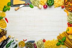 Итальянская рамка космоса экземпляра кухни Стоковые Фотографии RF