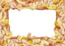 Итальянская рамка макаронных изделий Стоковые Фото