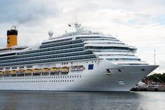 Итальянская роскошная Коста Фортуна туристического судна Стоковая Фотография RF