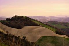 Итальянская сельская местность Стоковая Фотография RF