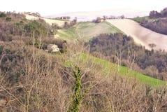 Итальянская сельская местность Стоковое фото RF