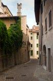 Итальянская старая улица Стоковые Фотографии RF