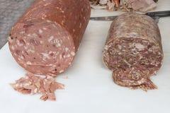 Итальянская традиционная мясная закуска Стоковые Изображения RF