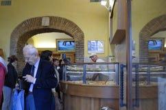 Итальянская хлебопекарня стоковое изображение