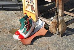 итальянские ботинки Стоковое Изображение RF