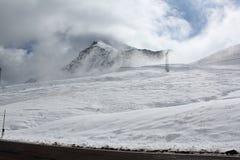Итальянские высокогорные пропуски Стоковая Фотография RF