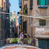 Итальянские города - Венеция Стоковая Фотография