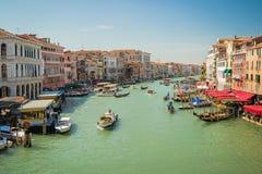 Итальянские города - Венеция Стоковые Изображения RF
