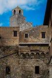 Итальянские города - San Gimignano Стоковое Фото