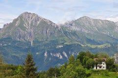 Итальянские горы Стоковые Изображения RF