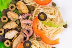 итальянские макаронные изделия вкусные Стоковые Изображения