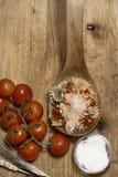 Итальянские макаронные изделия, связи Стоковое Изображение