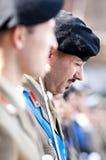 Итальянские офицеры армии стоковые фото