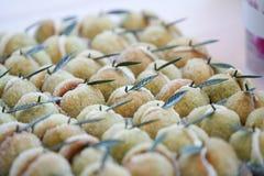 итальянские печенья Стоковые Фото
