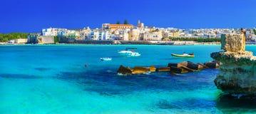 Итальянские праздники - Otranto стоковое изображение