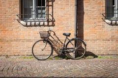 Итальянские прежние велосипеды стоковое фото