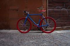 Итальянские прежние велосипеды стоковые изображения