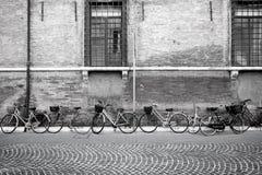 Итальянские прежние велосипеды стоковое изображение