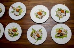 Итальянские рыбы в ресторане Стоковое Изображение RF
