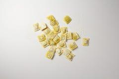 Итальянские свежие макаронные изделия Стоковые Фотографии RF