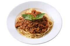 Итальянские спагетти Стоковые Фото