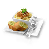 Итальянские спагетти Bolognese Стоковое фото RF
