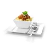 Итальянские спагетти Bolognese Стоковое Изображение