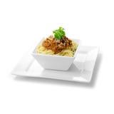 Итальянские спагетти Bolognese Стоковые Фотографии RF