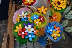 Итальянские цветки конфеты Стоковое Фото