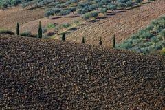Итальянский ландшафт падения Стоковое Изображение