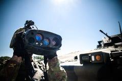 Итальянский будущий проект солдата Стоковые Изображения RF