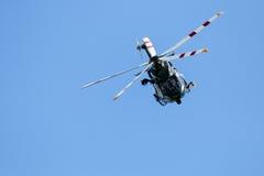 Итальянский воинский вертолет Стоковые Фотографии RF