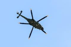 Итальянский воинский вертолет Стоковые Изображения