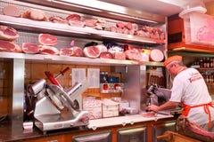 Итальянский мясник Стоковая Фотография RF