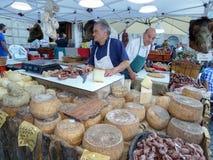 Итальянский поставщик сыра Стоковая Фотография RF
