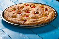 Итальянский плоский хлеб стоковое изображение rf