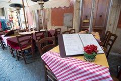 итальянский ресторан стоковые изображения rf