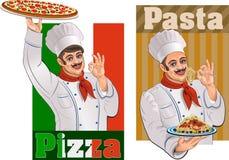 итальянский ресторан иллюстрация вектора